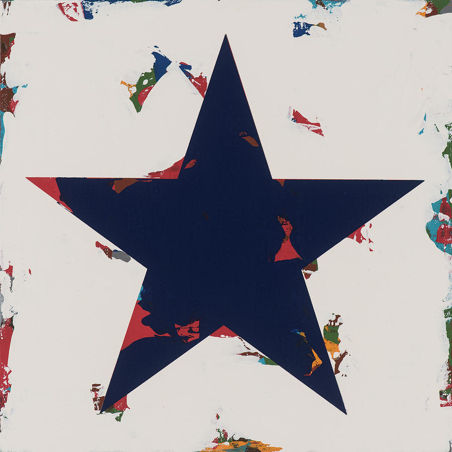 Star Painting - Star #15 by David Palmer