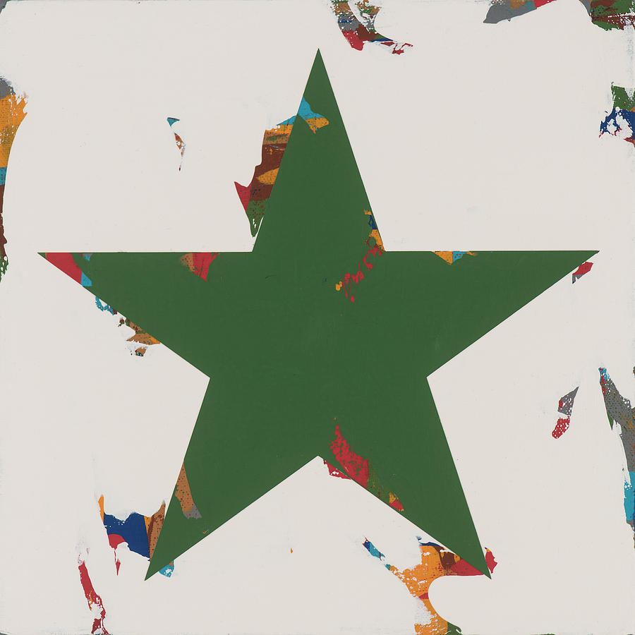 Star Painting - Star #18 by David Palmer
