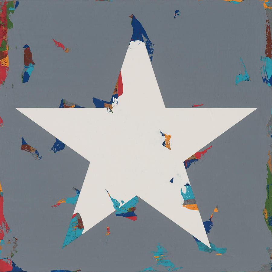 Star Painting - Star #19 by David Palmer