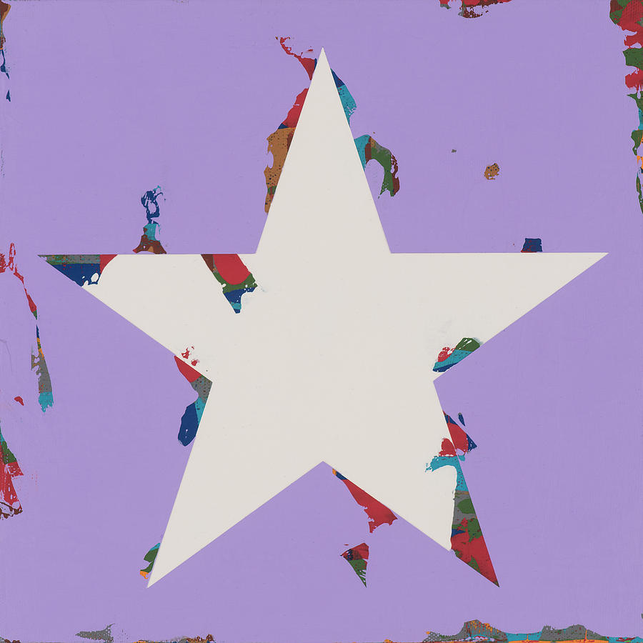 Star Painting - Star #21 by David Palmer