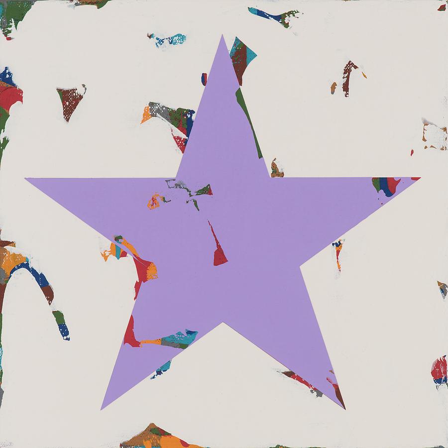 Star Painting - Star #22 by David Palmer