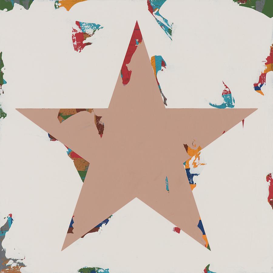 Star Painting - Star #25 by David Palmer