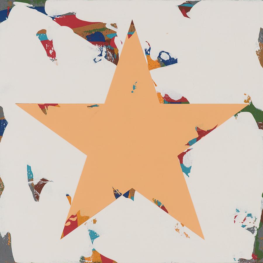 Star Painting - Star #28 by David Palmer
