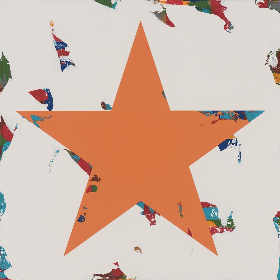 Star Painting - Star #3 by David Palmer