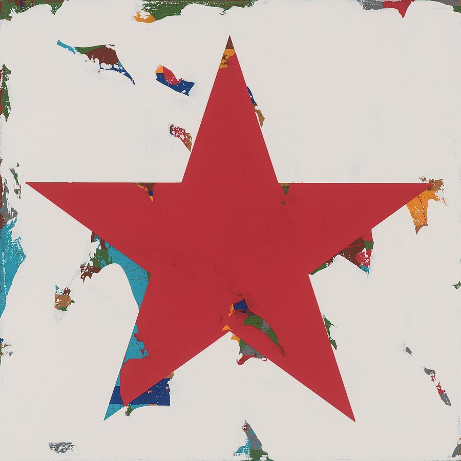 Star Painting - Star #32 by David Palmer