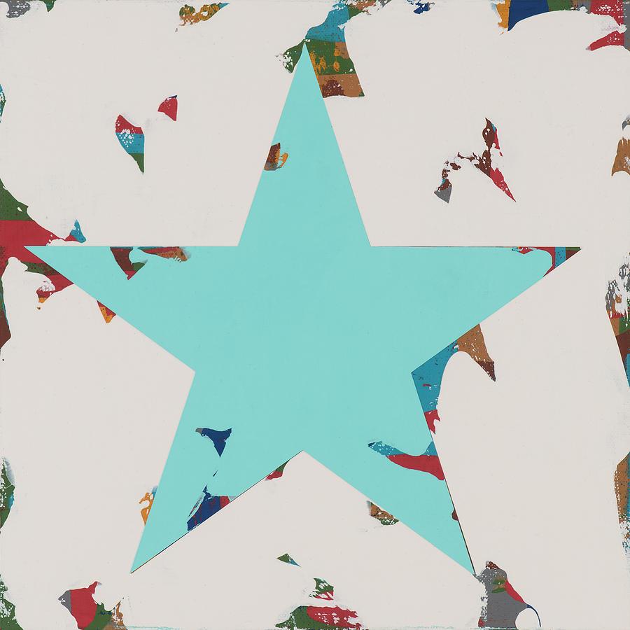 Star Painting - Star #7 by David Palmer