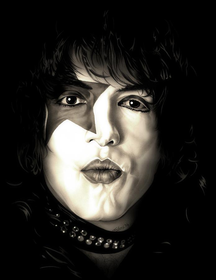 Star Child Paul Stanley by Fred Larucci