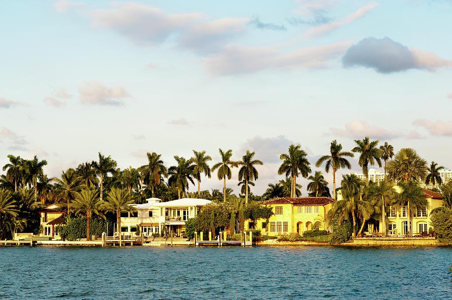 Star Island South Miami Beach Photograph by Ehstock