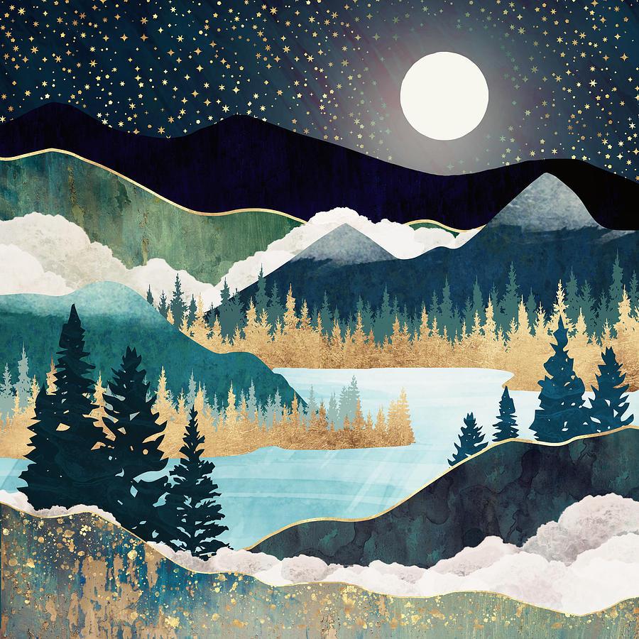 Star Lake by Spacefrog Designs