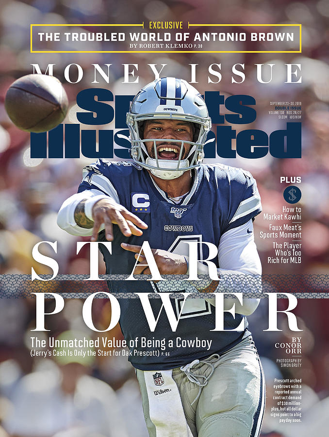 Star Power The Unmatched Value Of Being A Cowboy Sports Illustrated Cover Photograph by Sports Illustrated