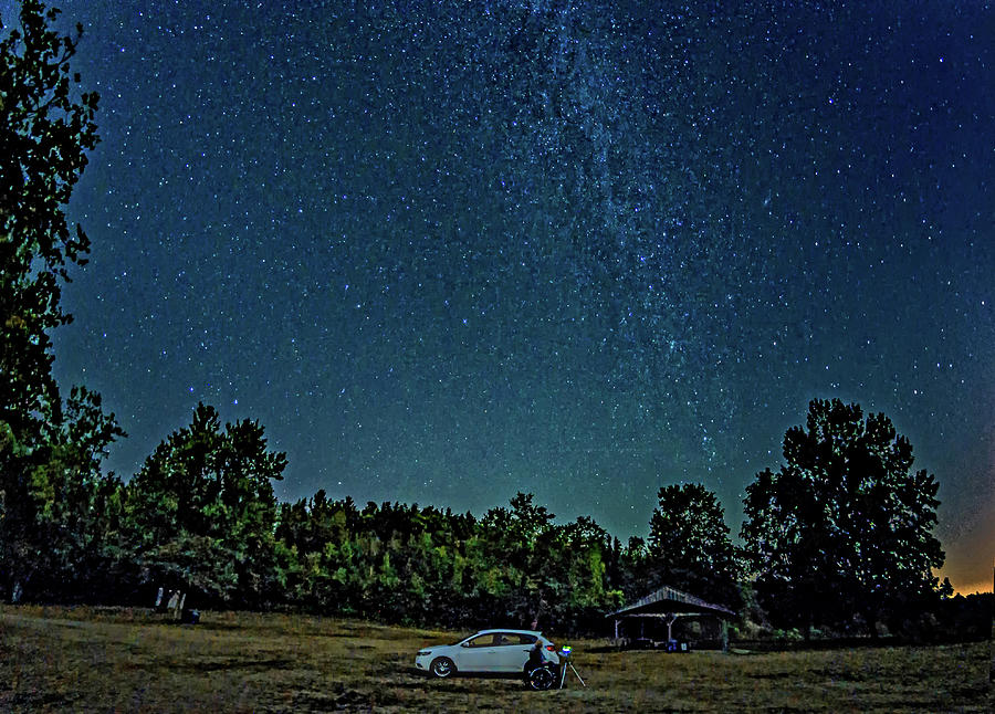 Star Shooter Photograph