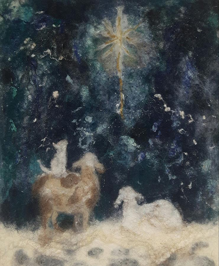 Sheep Painting - Star by Susanne Weber