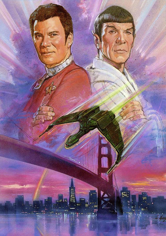 Movie Digital Art - Star Trek Iv The Voyage Home 1986 by Geek N Rock