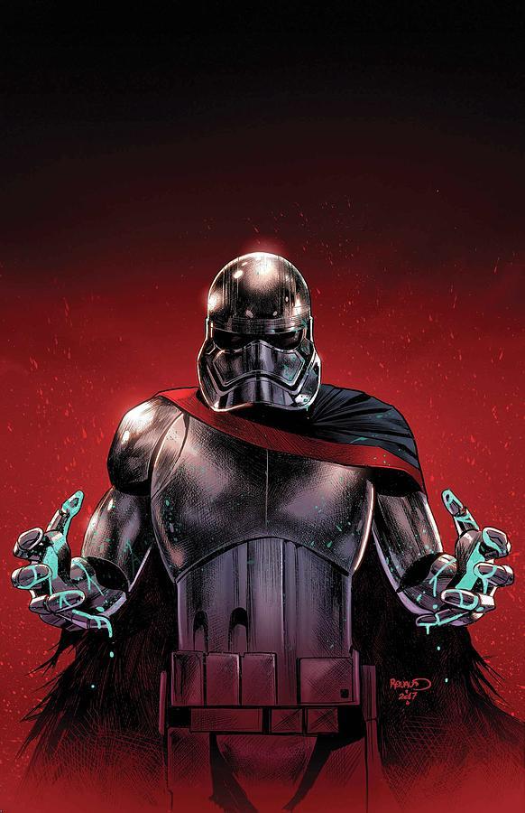 Darth Vader Digital Art - Star Wars Captain Phasma by Geek N Rock