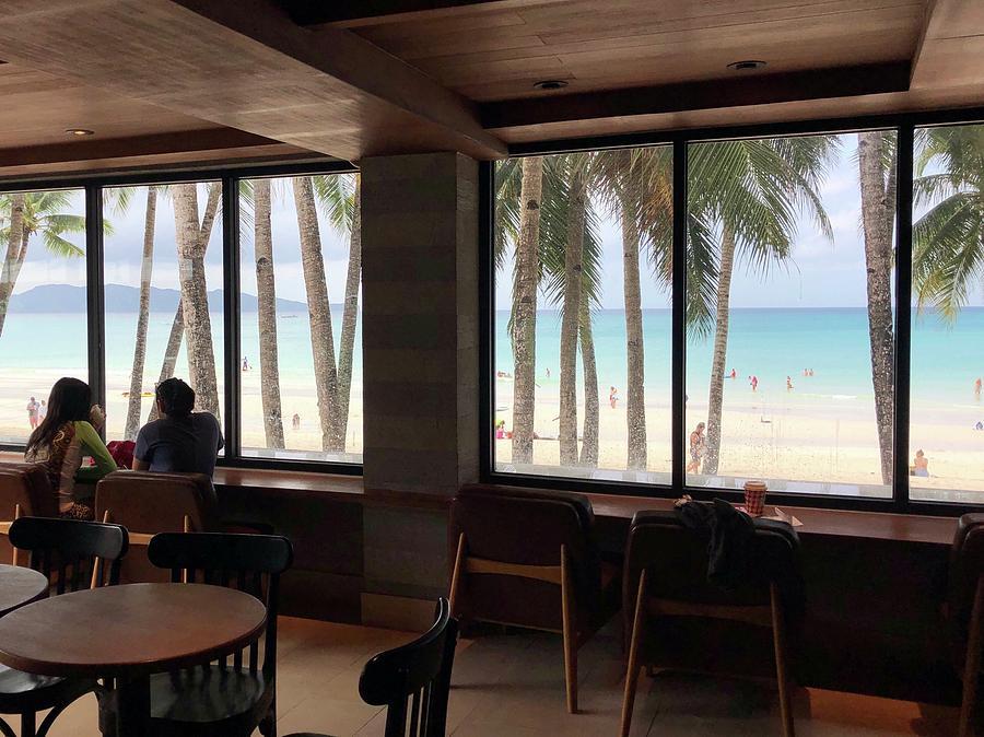 Coffee Photograph - Starbucks In Boracay Island by Nakayosisan Wld
