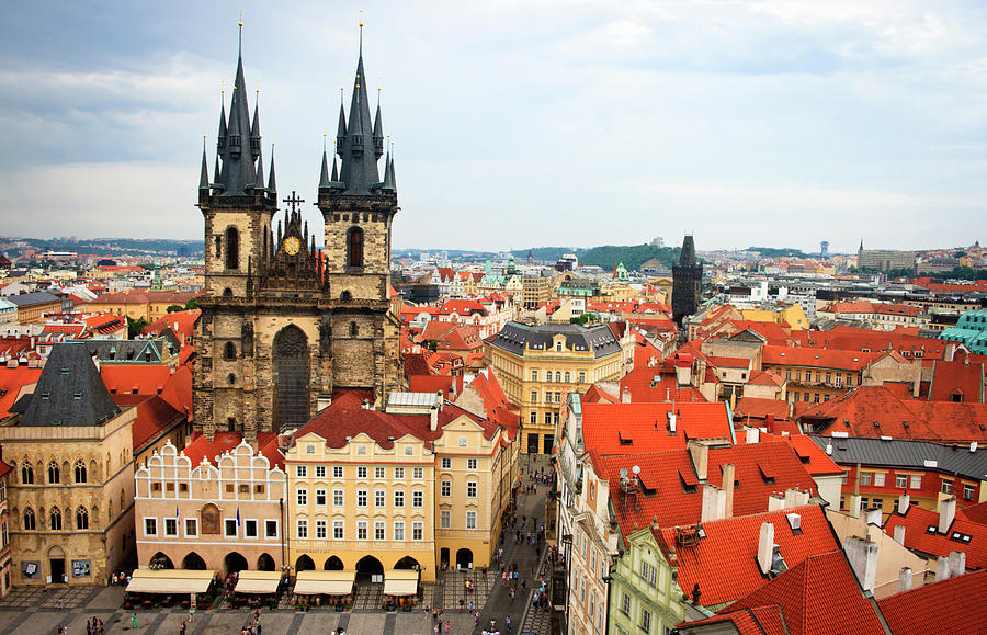 Stare Mesto Old Town, Prague, Czech by Wekwek