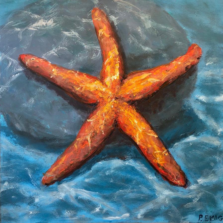 Starfish Painting - Starfish by Paul Emig