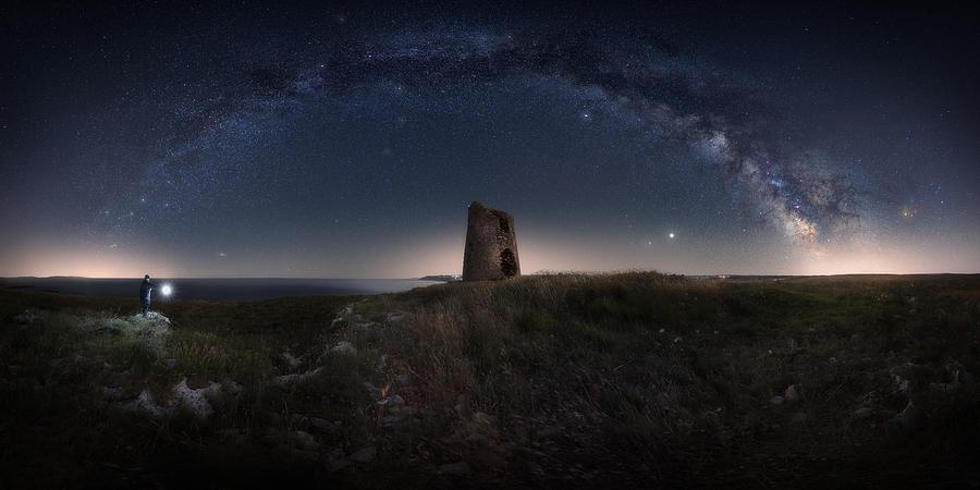 Milkyway Photograph - Stargate 2020 by Pierandrea Folle