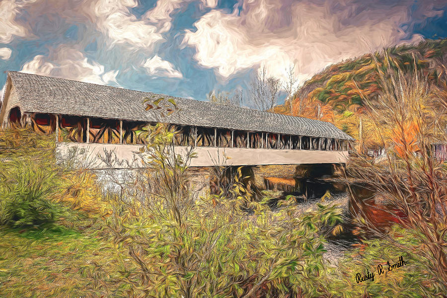 Stark covered bridge by Rusty R Smith