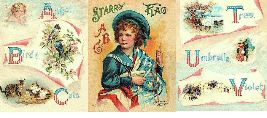 Starry Flagg Wrap A Round by Reynold Jay