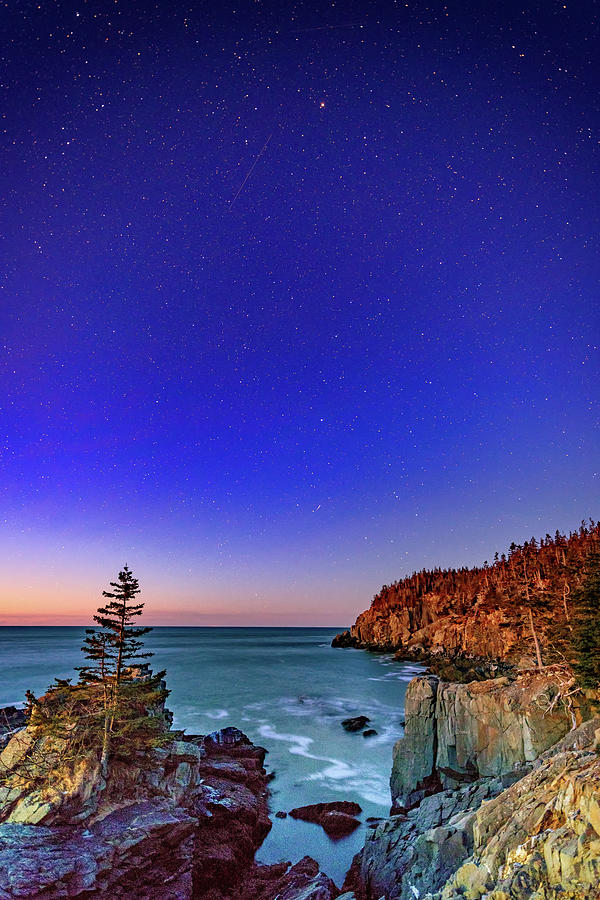 Starry Night At Gullivers Hole Photograph