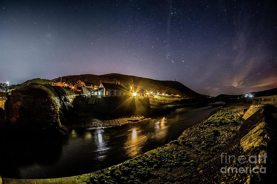 Aberystwyth Photograph - Starry Night In Aberystwyth by Keith Morris