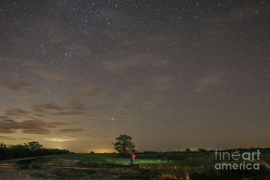 Starry Night Photographer by Tom Claud