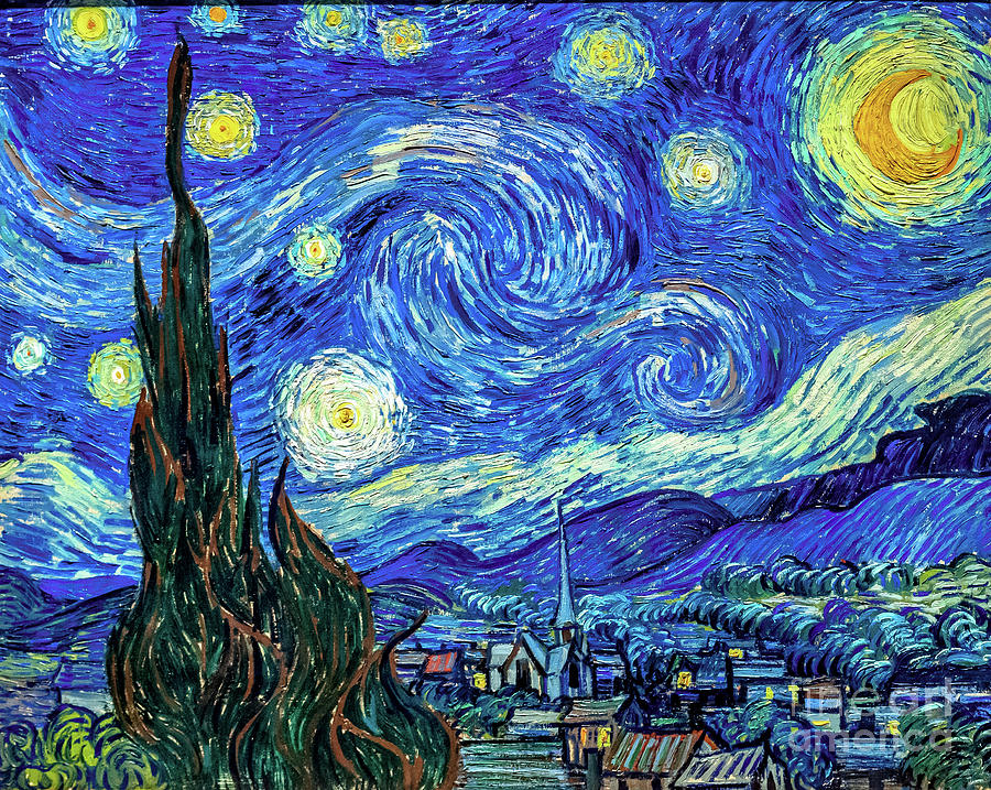 Starry Night by Vincent Van Gogh by Vincent Van Gogh