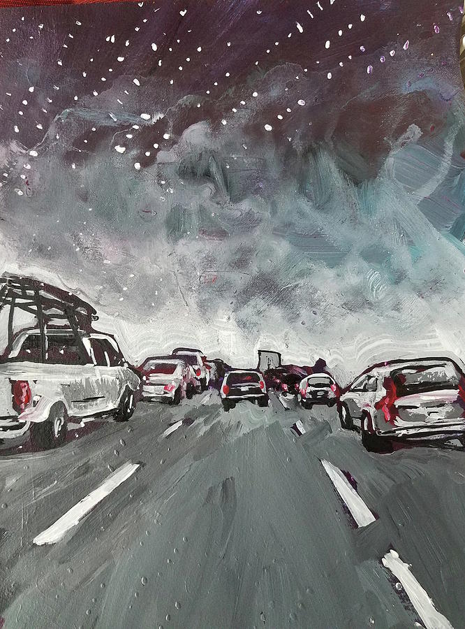 Starry Night Traffic by Tilly Strauss