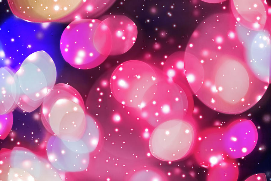Starry Sky Lights II by Anne Leven