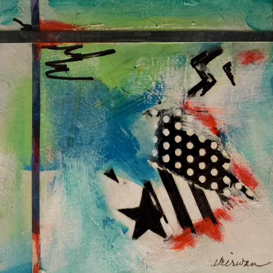 Abstract Photograph - Stars and Stripes by Ellen Kirwan