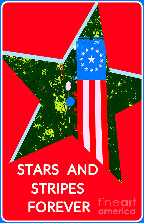 Stars And Stripes Forever by Diann Fisher