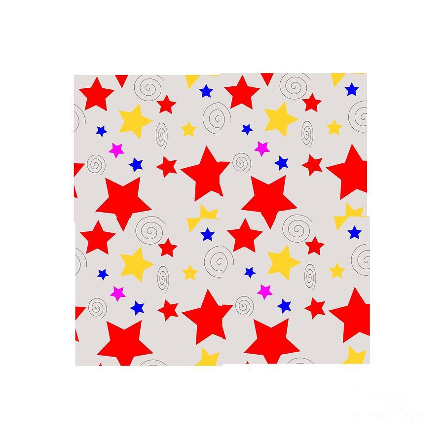 Stars motif by Monika Shepherdson