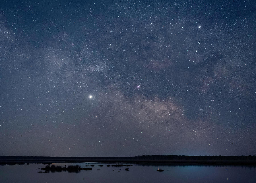 Stars Over Beaverdam Creek by Robert Fawcett