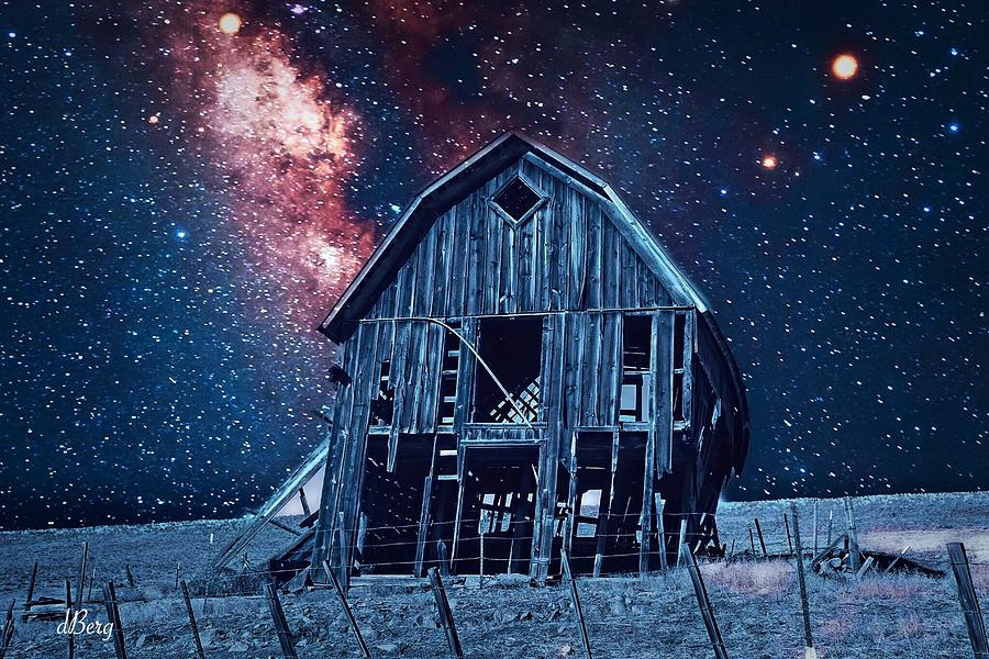 Stars over Zumwalt Station by Douglas Berg