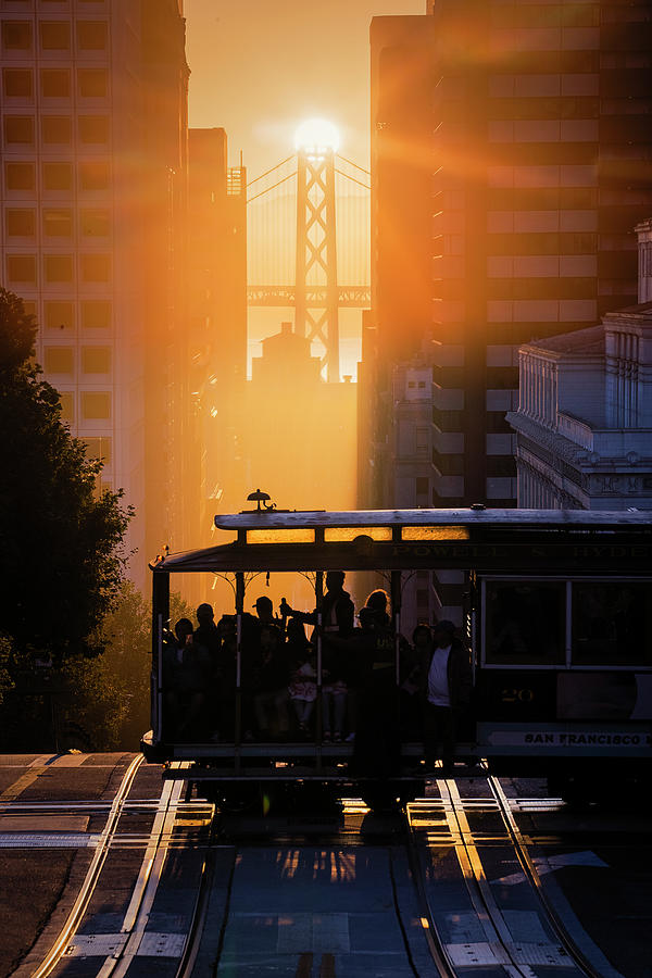 Starshine, San Francisco Photograph by Vincent James