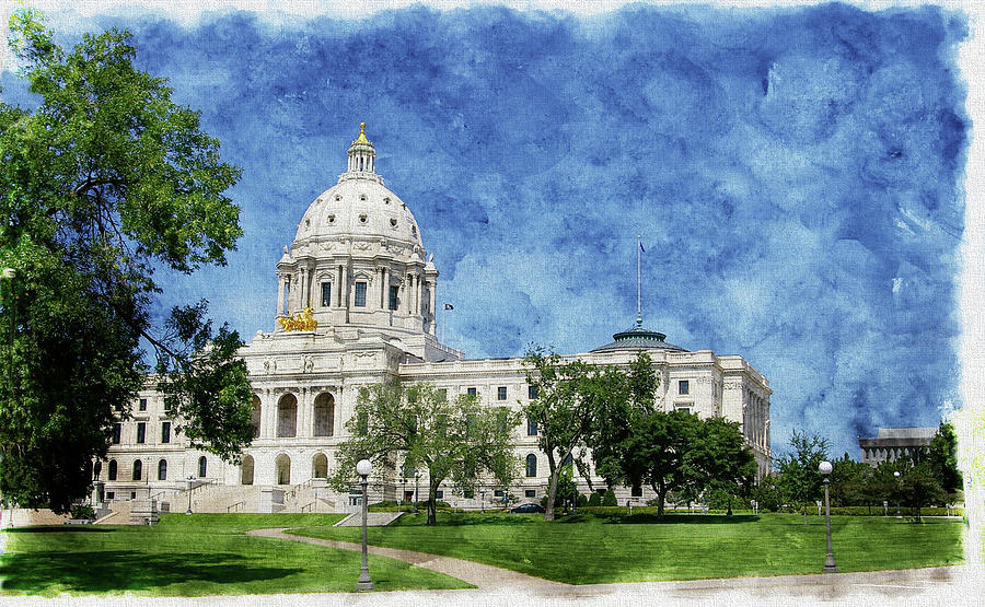 State Capitol Lawn by Tom Reynen