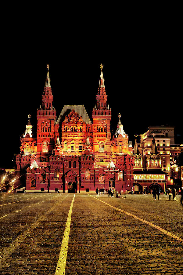 State Historical Museum, Moscow by Kay Brewer