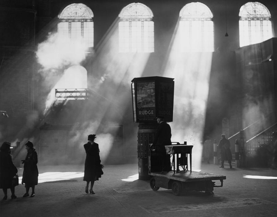 Station Sunlight Photograph by Harry Todd