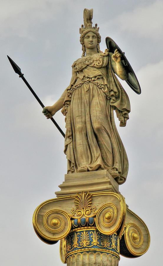 Statue of Athena by Doug Matthews