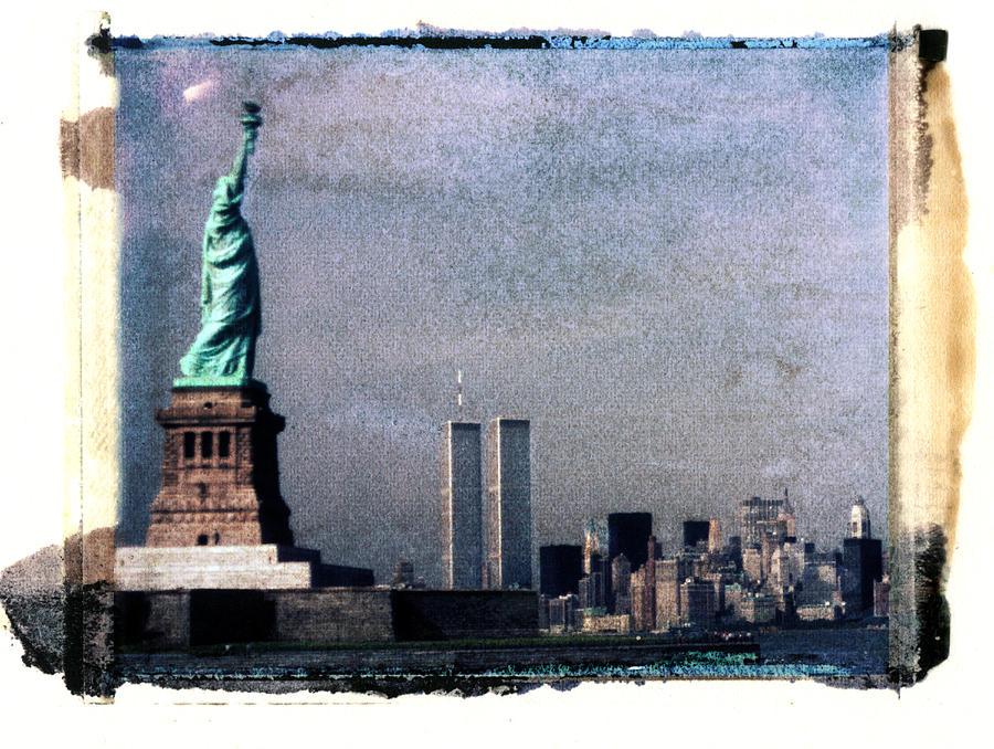 Statue Of Liberty And Lower Manhattan Photograph by Lyle Leduc