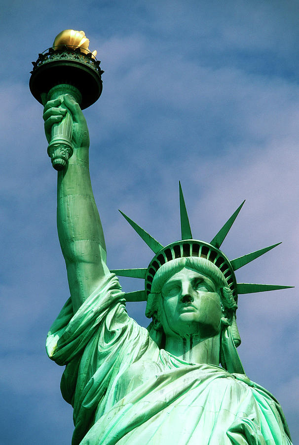 Statue Of Liberty In New York City Photograph by Wesley Hitt