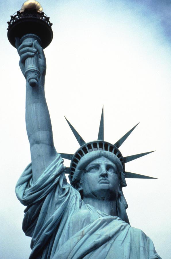 Statue Of Liberty, New York Photograph by John Foxx