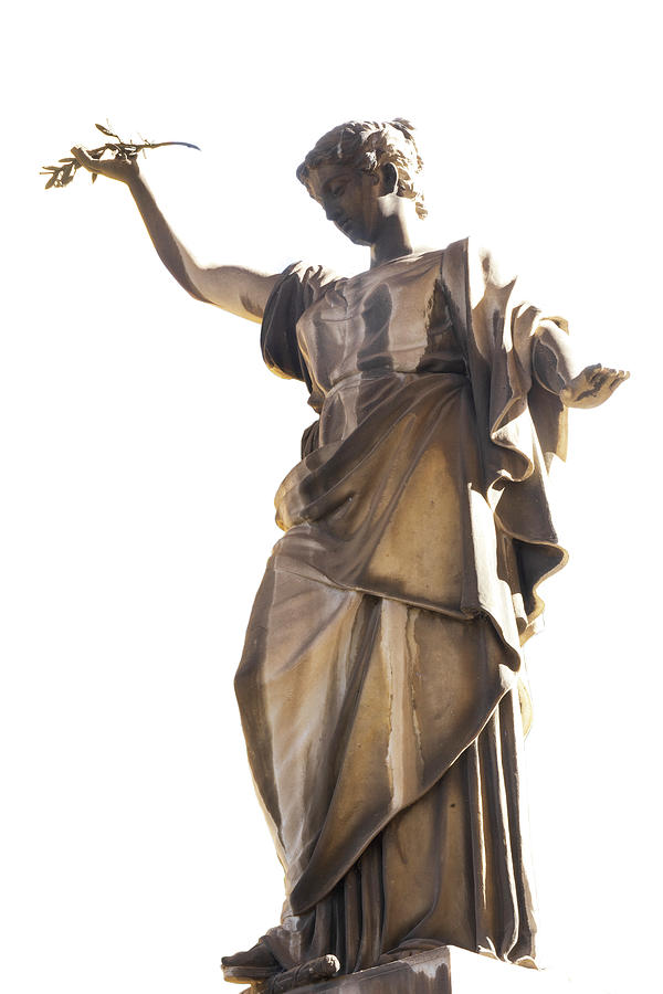Statue / Rome, Italy by Bob Duncan