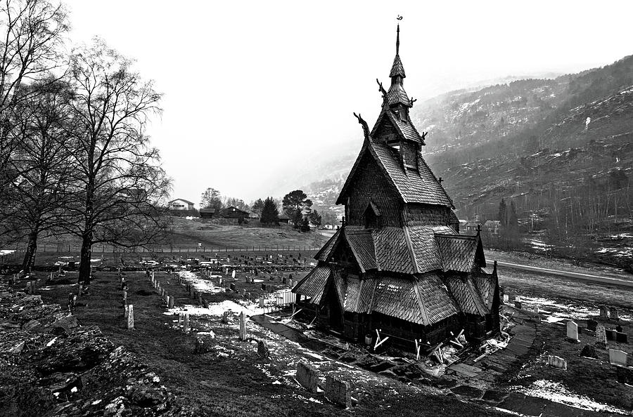 Stave Church Photograph by Nadia Casey Photo