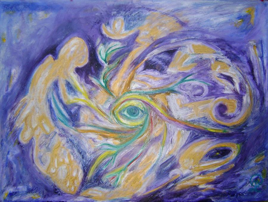 Stay in touch with your Soul Painting by Therese Legere
