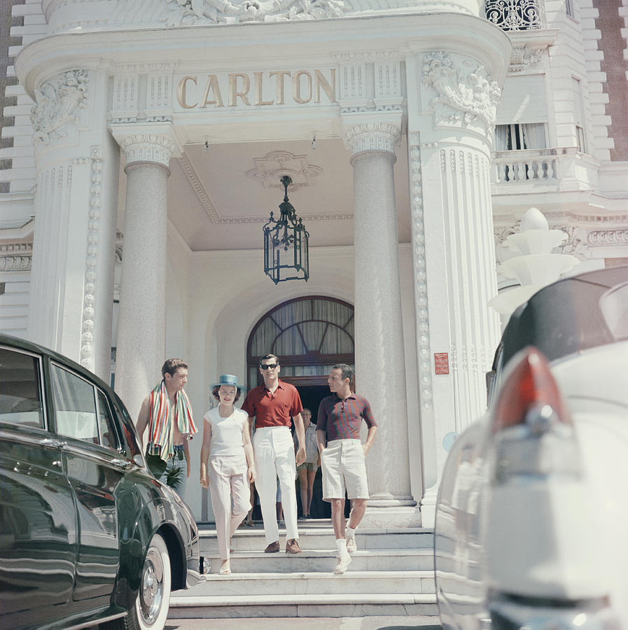 Staying At The Carlton Photograph by Slim Aarons