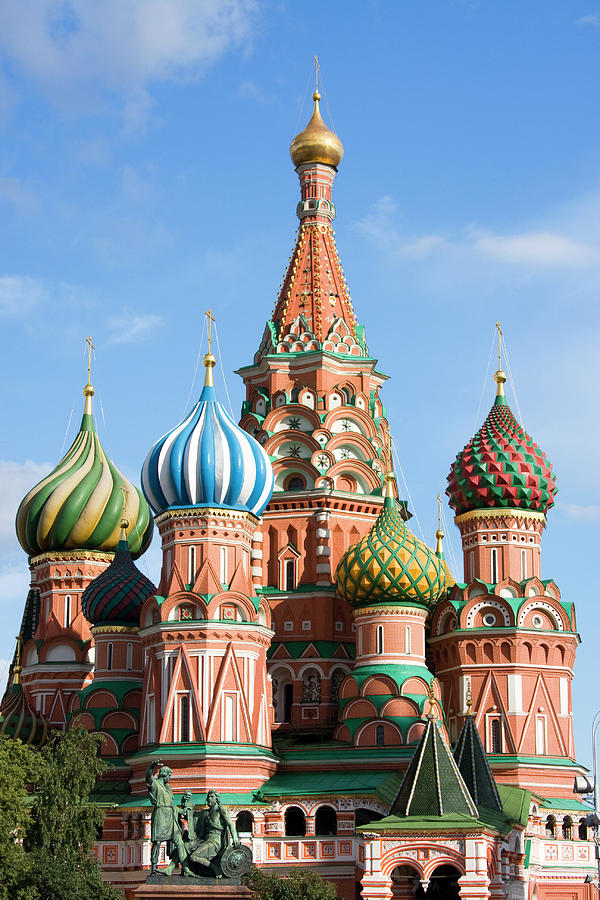 St.basil Cathedral Photograph by Numbeos