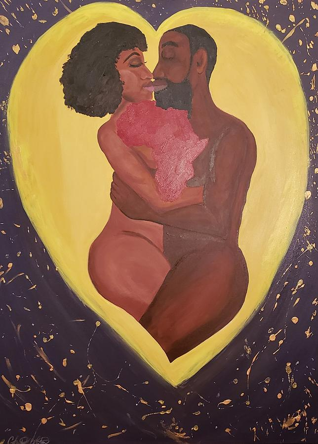 Love Painting - Steady Love by Christian Belton
