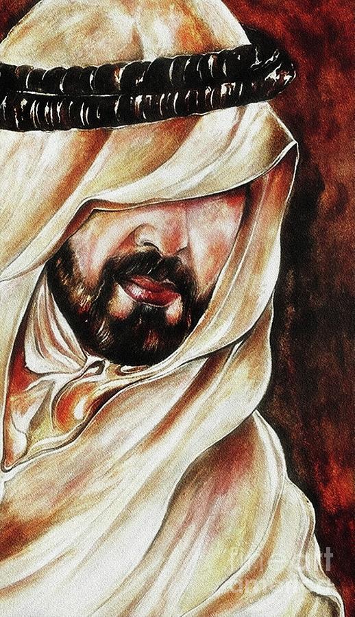Spiritual Painting - Stealer Of Souls by Qasir Z Khan